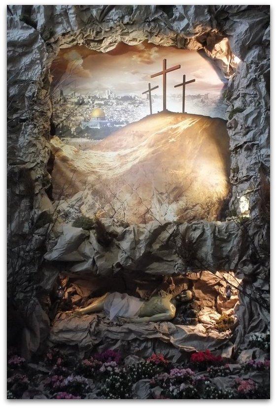 Boży Grób Wielkanoc 2016 autor: Bronisław Gańczorz